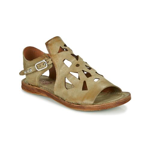 Shoes Women Sandals Airstep / A.S.98 RAMOS PERF Kaki