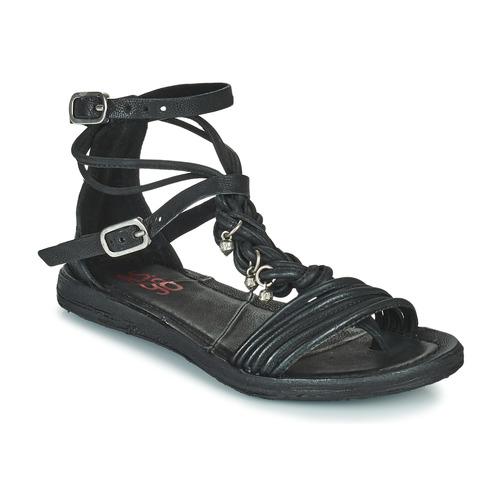 Shoes Women Sandals Airstep / A.S.98 RAMOS TORSADE Black