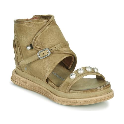Shoes Women Sandals Airstep / A.S.98 LAGOS Kaki