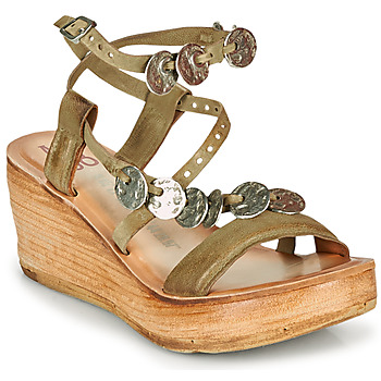 Shoes Women Sandals Airstep / A.S.98 NOA Kaki