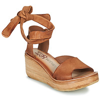 Shoes Women Sandals Airstep / A.S.98 NOA LACE Camel
