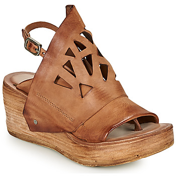 Shoes Women Sandals Airstep / A.S.98 NOA GRAPH Camel