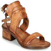 Shoes Women Sandals Airstep / A.S.98 KENYA BUCKLE Camel