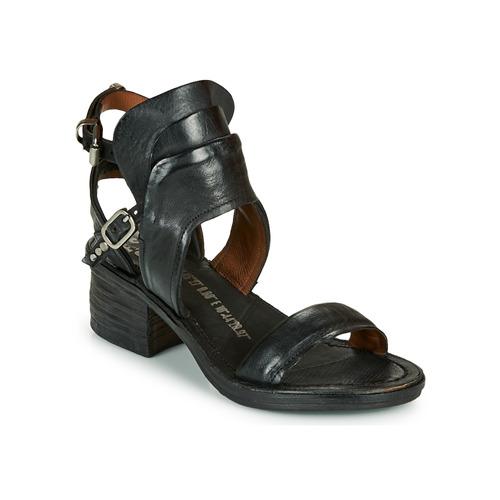 Shoes Women Sandals Airstep / A.S.98 KENYA BUCKLE Black