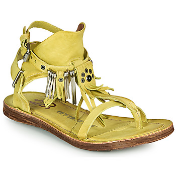 Shoes Women Sandals Airstep / A.S.98 RAMOS Yellow