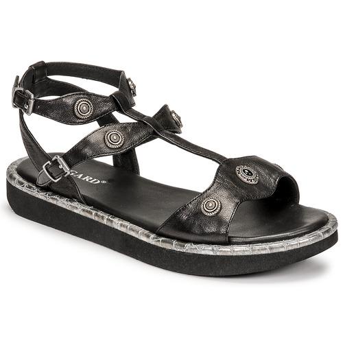 Shoes Women Sandals Regard ANGLET Black