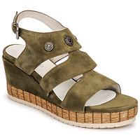 Shoes Women Sandals Regard DOLLIS Kaki