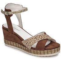 Shoes Women Sandals Regard DOUAI Brown