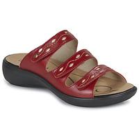 Shoes Women Mules Romika Westland IBIZA 66 Red