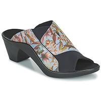 Shoes Women Mules Romika Westland ST TROPEZ 244 Blue / Multicolour