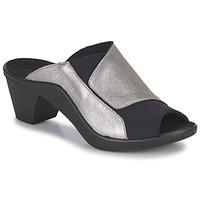 Shoes Women Mules Romika Westland ST TROPEZ 244 Black / Gold