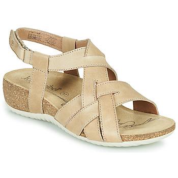 Shoes Women Sandals Josef Seibel NATALYA 16 Beige