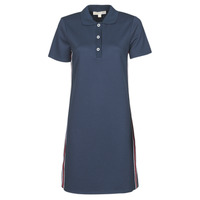 Clothing Women Short Dresses MICHAEL Michael Kors SS LOGO TAPE POLO DRS Marine