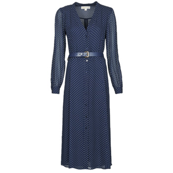 Clothing Women Long Dresses MICHAEL Michael Kors PERFECTION DOT DRS Marine