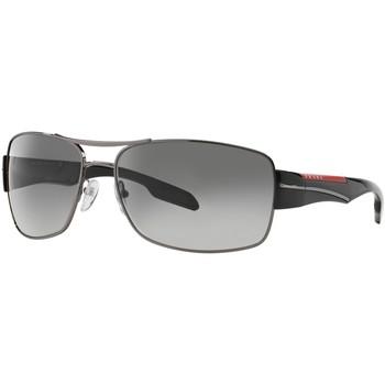 Watches & Jewellery  Sunglasses Prada Linea Rossa SPS53N Grey/Grey