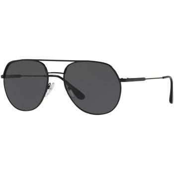 Watches & Jewellery  Sunglasses Prada SPR55U Black/Grey