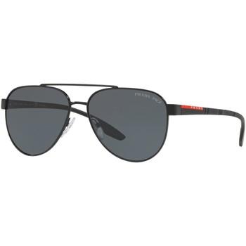Watches & Jewellery  Sunglasses Prada Linea Rossa SPS54T Black/Grey Polarised