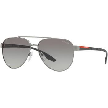 Watches & Jewellery  Sunglasses Prada Linea Rossa SPS54T Gunmetal/Grey Gradient