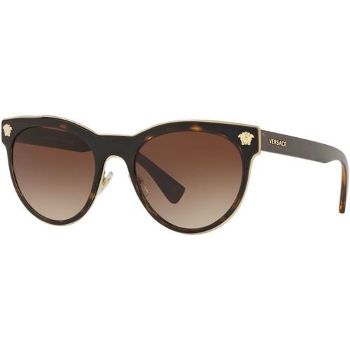 Watches & Jewellery  Women Sunglasses Versace  Dark Tortoise/Brown Gradient