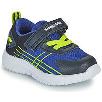 Shoes Boy Low top trainers Kangaroos KI-TWEE EV Blue / Green