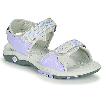 Shoes Girl Sandals Kangaroos K-BLONDE Purple / Grey