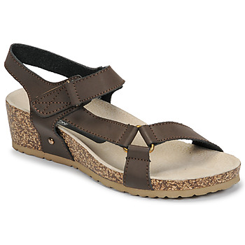 Shoes Women Sandals Spot on F10716 Brown