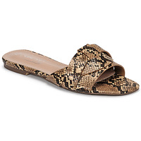 Shoes Women Mules Spot on F00337 Brown