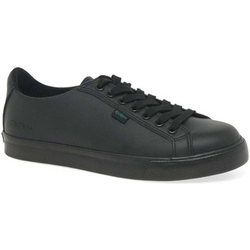 Shoes Boy Low top trainers Kickers Tovni Lacer Boys Senior School Shoes black