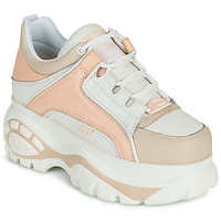 Shoes Women Low top trainers Buffalo CLASSICS White / Pink