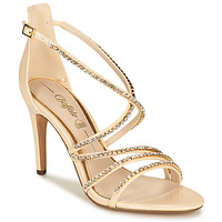 Shoes Women Sandals Buffalo RAPHAELA Beige