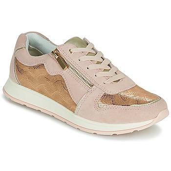 Shoes Women Low top trainers Damart 64823 Cream