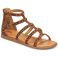 Shoes Girl Sandals Bullboxer AGG021F1S-TANN Brown