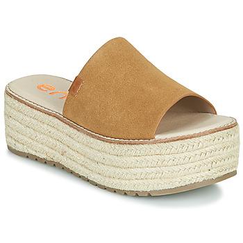 Shoes Women Mules Emmshu NELIE Cognac