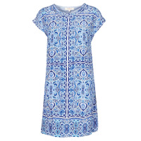 Clothing Women Short Dresses Derhy STRESS Blue