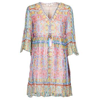 Clothing Women Short Dresses Derhy SUPERMAN Multicolour