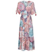 Clothing Women Long Dresses Derhy STOP Multicolour