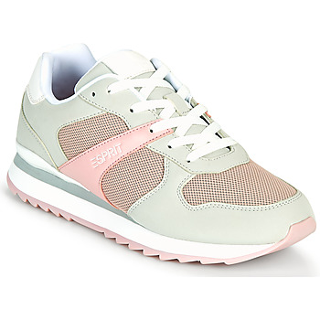 Shoes Women Low top trainers Esprit AMBRO Green / Water / Pink
