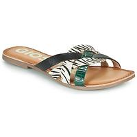 Shoes Women Mules Gioseppo STILES Black / White