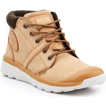 Shoes Men Hi top trainers Palladium Pallaville HI Cuff L 05160-280-M brown