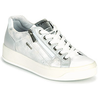 Shoes Women Low top trainers IgI&CO DOMNA Silver / White
