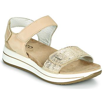 Shoes Women Sandals IgI&CO FRAPLA Gold