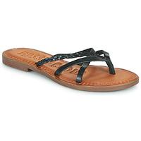 Shoes Women Flip flops Musse & Cloud KEOP Black