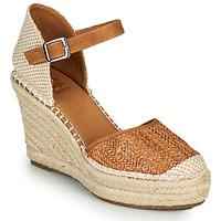Shoes Women Espadrilles Xti SPARROW Cognac