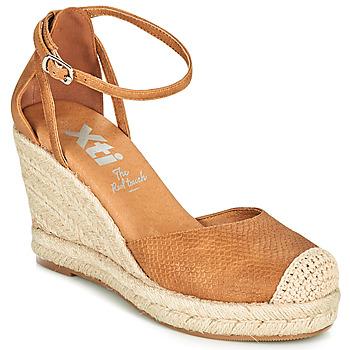 Shoes Women Espadrilles Xti NINA Cognac
