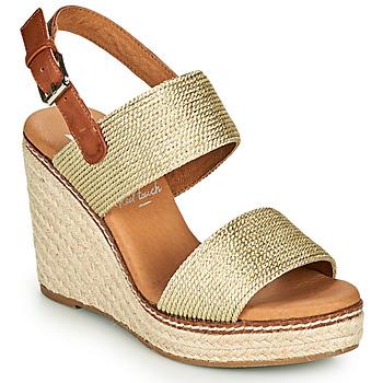 Shoes Women Sandals Xti NONNA Gold