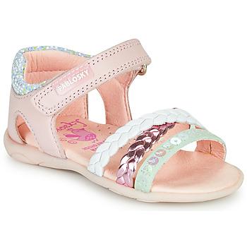 Shoes Girl Sandals Pablosky KINNO Pink