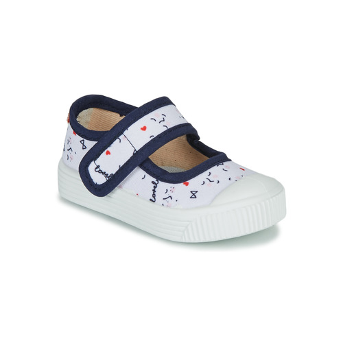 Shoes Children Flat shoes Citrouille et Compagnie MY LOVELY BABIES White / Printed