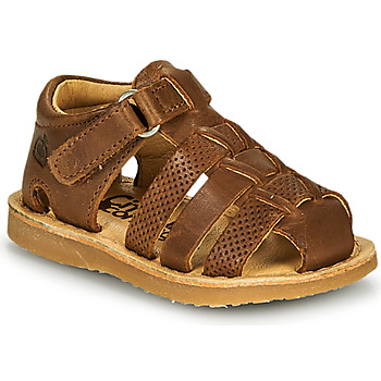 Shoes Boy Sandals Citrouille et Compagnie MISTIGRI Camel
