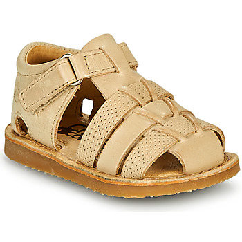 Shoes Boy Sandals Citrouille et Compagnie MISTIGRI Beige