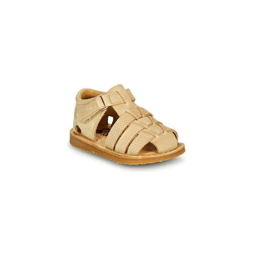 Shoes Boy Sandals Citrouille et Compagnie MISTIGRI Beige